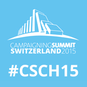 Campaigning Summit Switzerland 2015 Logo Facebook Profilbild Twitter